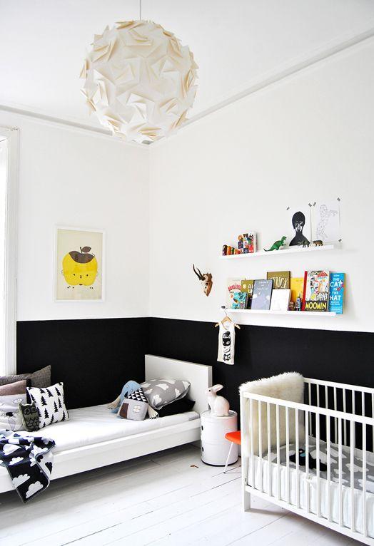 Pokój Dziecięcy W Stylu Skandynawskim - Jasna drewniana podłoga i dużo światła
