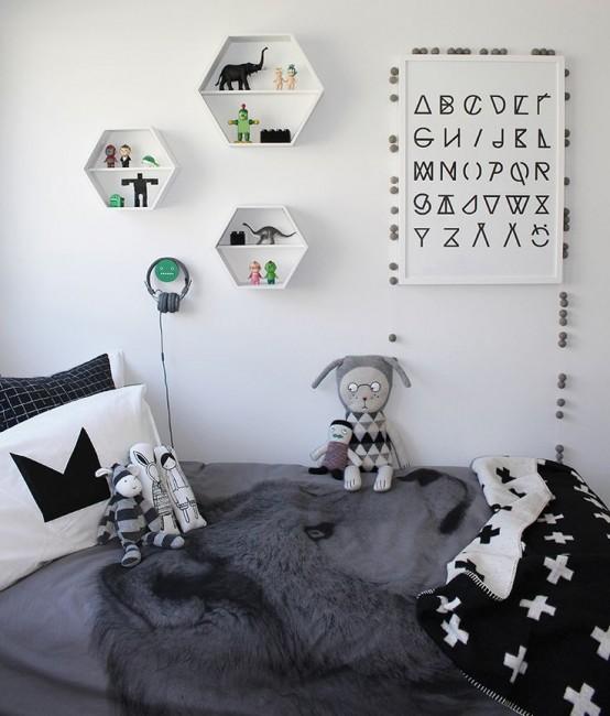 Pokój Dziecięcy W Stylu Skandynawskim - Przytulne miejsce do spania