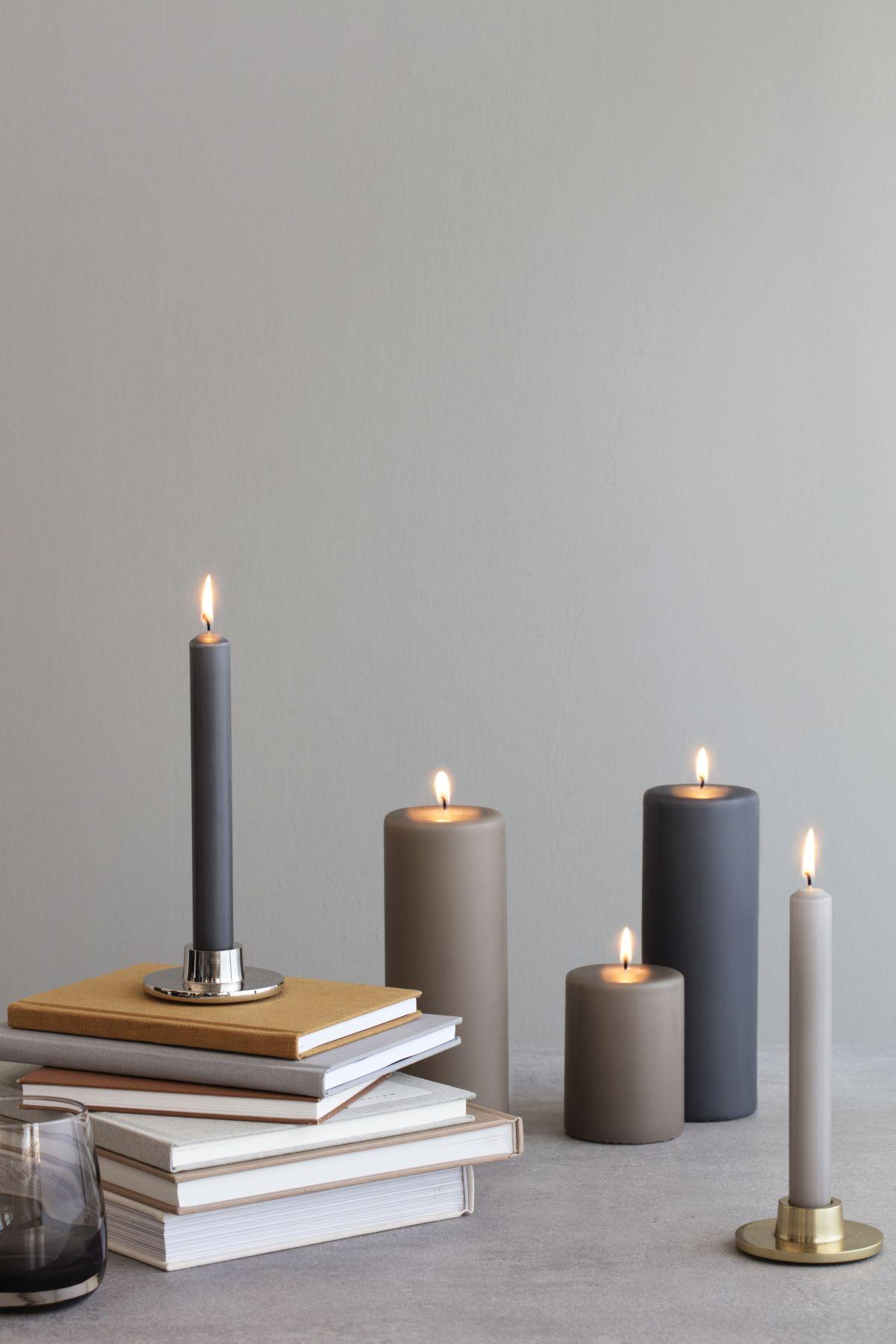 dekoracyjne świeczniki - świete - Broste Copenhagen jesień zima 2018