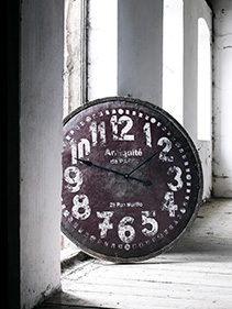 Zegar postarzany pokój Nordal