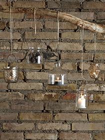 Lampiony wiszące szklane Hubsch