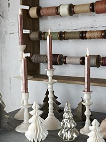 Dekoracje świąteczne tasiemki Hubsch