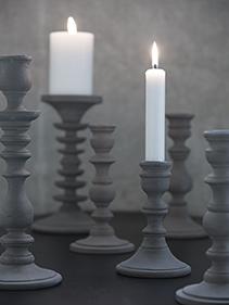 Madam Stoltz świeczniki metalowe