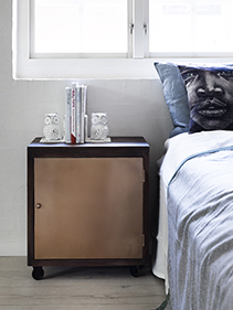 szafka nocna sypialnia Nordal