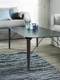 drewno metal salon Nordal