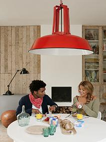 Stolik kuchenny lampa Hkliving