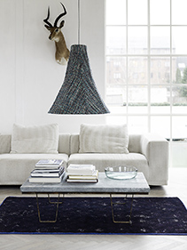 sofa lampa salon Nordal