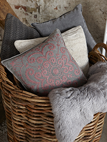 Poduszki bawełniane Hubsch