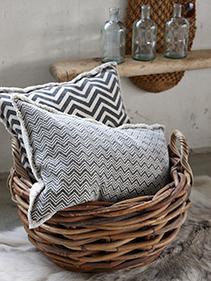 Bawełniane poduszki Hubsch