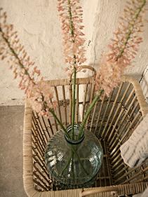 Kosz ażurowy wazon Hubsch
