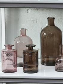 Buteleczki przyciemniane szkło Hubsch