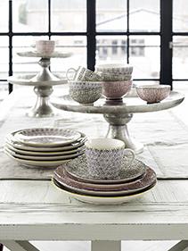 ekskluzywne szkło, porcelana Nordal
