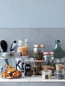 Kuchenne szklane pojemniki House Doctor