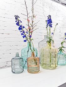 kolorowe szkło, porcelana Hkliving