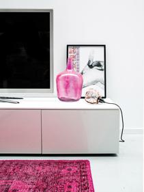 wazon_różowy_szkło_z_odzysku