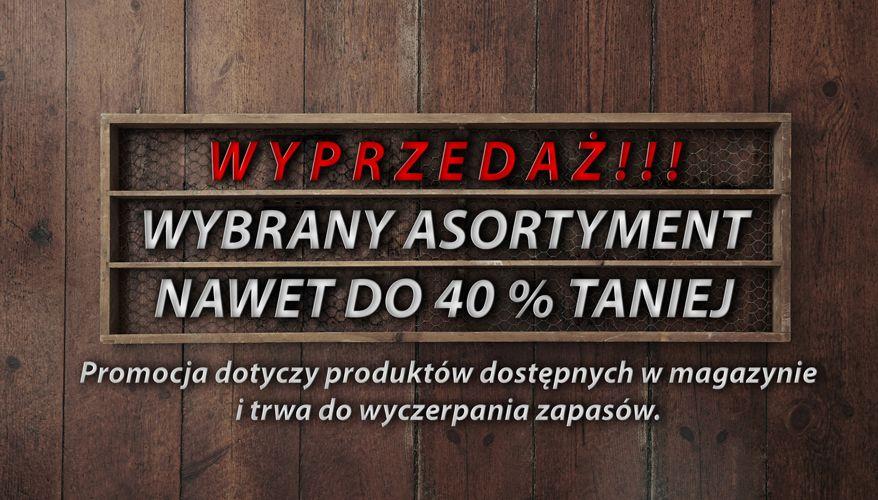 WYPRZEDAŻ -40%